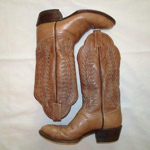 Tony Lama Black Label Cowboy Boots | Brown | 5.5